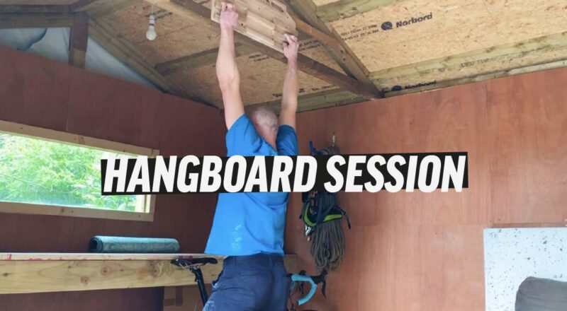 Video title for fingerboard training