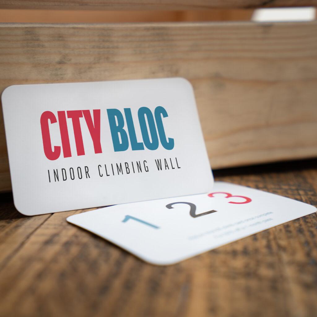 Climbing City Bloc Loyalty Card